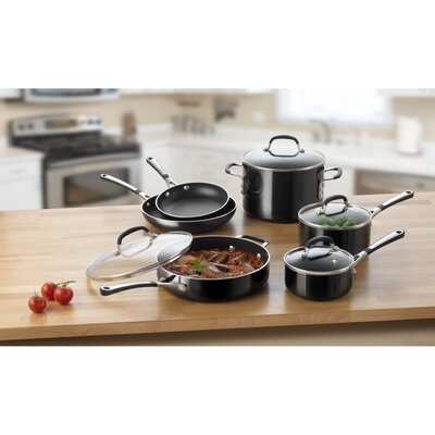 Simply Enamel 10 Piece Cookware Set by Calphalon