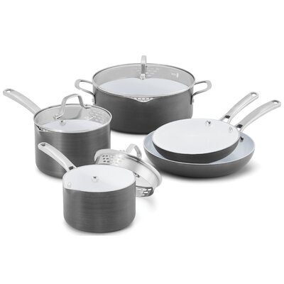 Classic Nonstick 8-Piece Cookware Set by Calphalon
