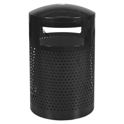 Ex-Cell Landscape Series 40-Gal Outdoor Waste Receptacle