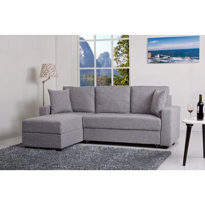 Gold Sparrow Aspen Reversible Chaise Sectional & Reviews