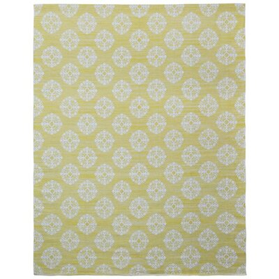 Jacquard Handmade Yellow Area Rug by St. Croix