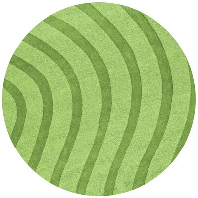 St. Croix Transitions Light Green Waves Rug