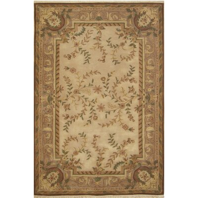 American Home Classic Beige Area Rug by American Home Rug Co.