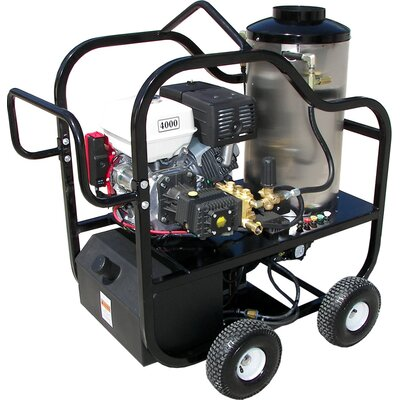 Hot Shot Series 4000 PSI Hot Water Pressure Washer by PressurePro
