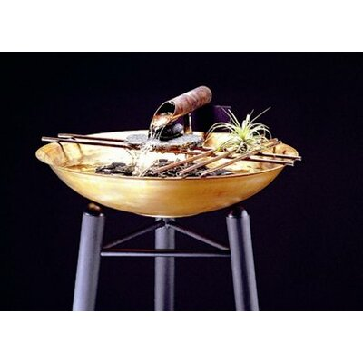 Nature Bowl Small Tabletop Fountain by Nayer Kazemi
