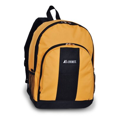 Backpack with Front and Side Pockets by Everest