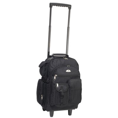 Deluxe Rolling Backpack by Everest