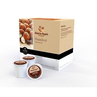 Keurig Gloria Jean's Hazelnut Coffee K-Cup (Pack of 108)