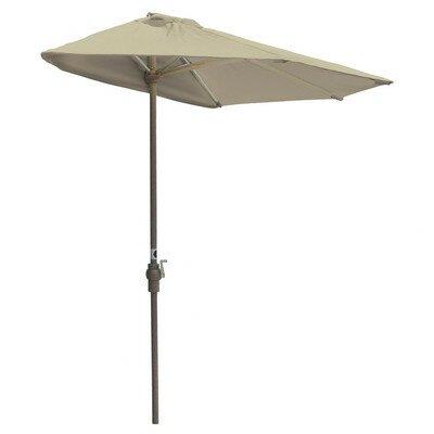 Blue Star Group 9' Off-The-Wall Brella Half Umbrella
