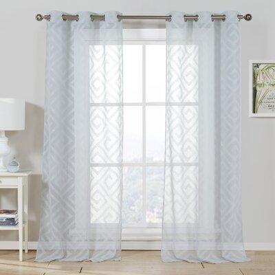 Calleigh curtain panel wayfair for International decor window treatments