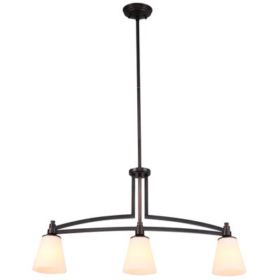 Georgetown 3 Light Linear Pendant Product Photo