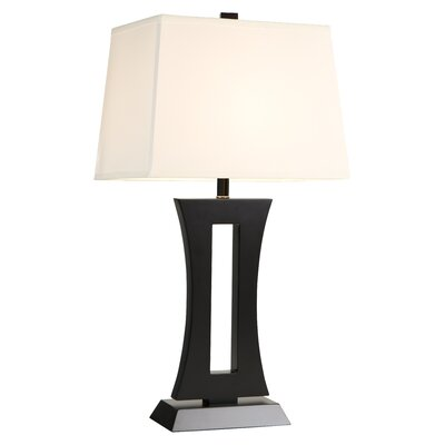 "DVI Urban Living 32.25"" H Table Lamp with Rectangular Shade"