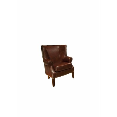 Camden Top Grain Leather Chair by Elements Fine Home Furnishings