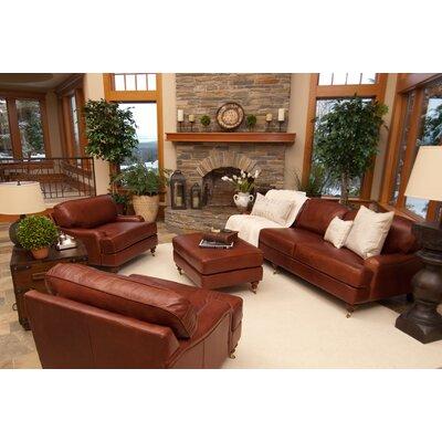 Elements Fine Home Furnishings Cambridge Leather Sofa