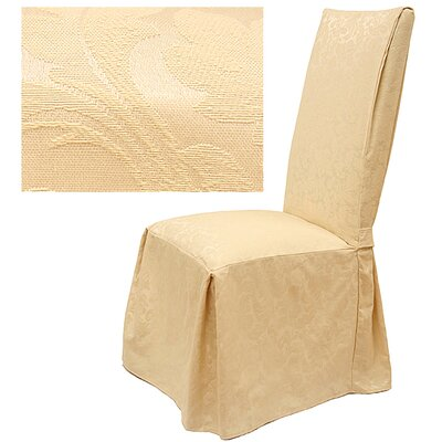 Damask Dining Chair Slipcover by Easy Fit