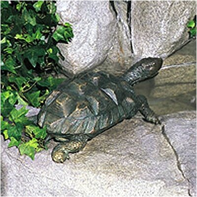 Brass Baron Sea Life Turtle Fountain