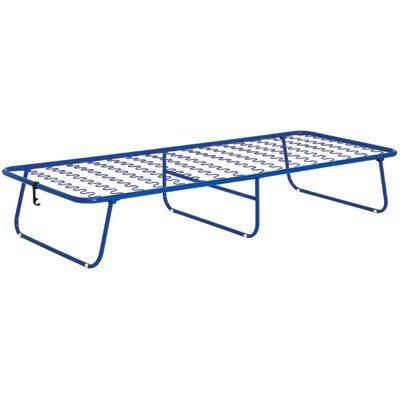 Stram Compact Foam Frame Folding Bed in Blue
