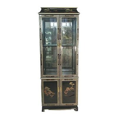 China Curio Cabinet by Oriental Furniture