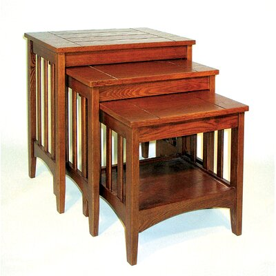 Hugo 3 Piece Nesting Tables by Oriental Furniture
