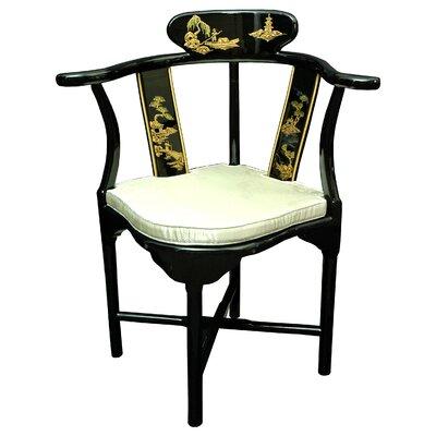 Oriental Furniture Corner Fabric Side Chair