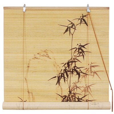Bamboo Design Bamboo Roller Blind by Oriental Furniture