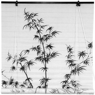Bamboo Tree Shoji Rice Paper Roller Blind Product Photo