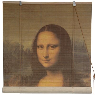 Mona Lisa Bamboo Roller Blind Product Photo