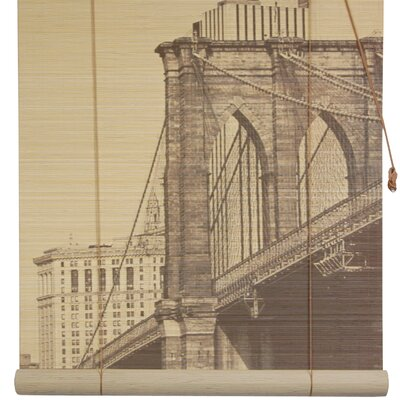 Brooklyn Bridge Bamboo Roller Blind Product Photo