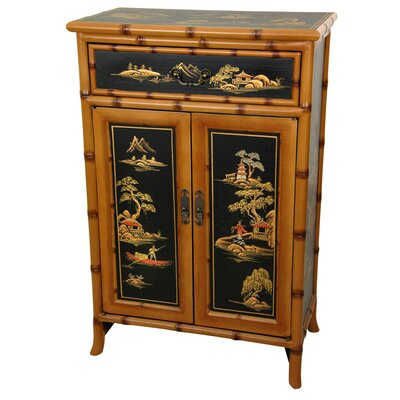 Ching Shoe Cabinet by Oriental Furniture