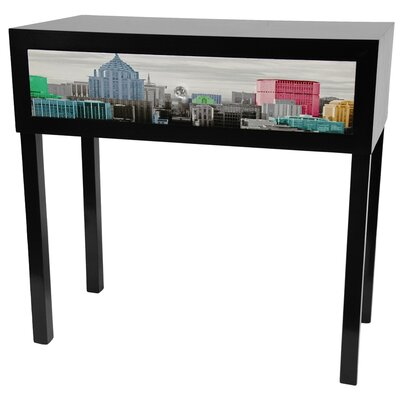 Colorful New York Console Table by Oriental Furniture