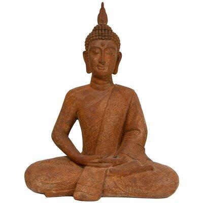 Thai Sitting Zenjo Buddha Statue by Oriental Furniture