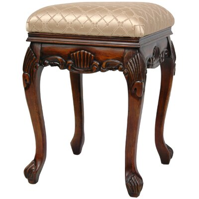 Oriental Furniture Queen Victoria Parlor Stool