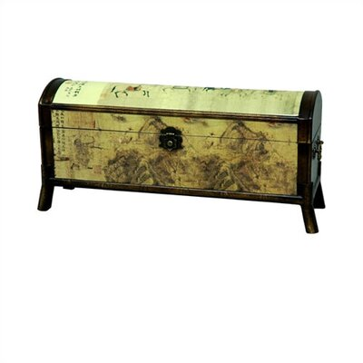Oriental Furniture Horse Design Oriental Storage Box