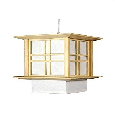 Akida 1 Light Hanging Lamp by Oriental Furniture