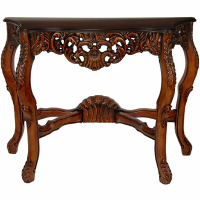 Queen Victoria Console Table by Oriental Furniture