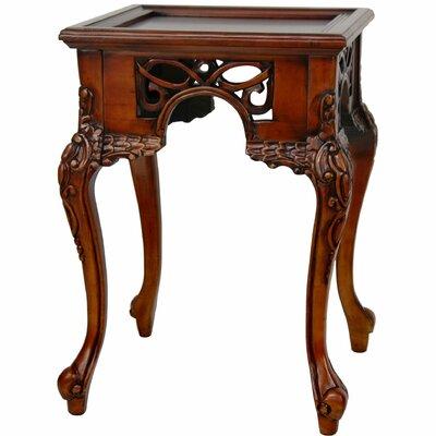 Oriental Furniture William the Conqueror End Table