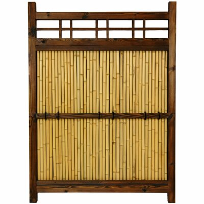 Oriental Furniture Japanese 4' x 3' Kumo Fence
