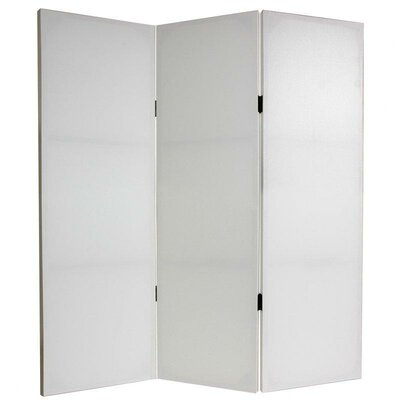 """Oriental Furniture 48"""" x 39"""" Do It Yourself 3 Panel Room Divider"""