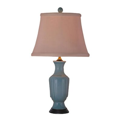 "Oriental Furniture 23"" H Table Lamp with Empire Shade"