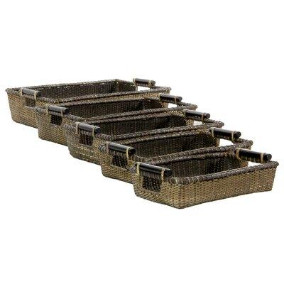 Rattan Open Baskets by Oriental Furniture