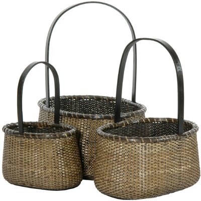 Rattan Baskets by Oriental Furniture