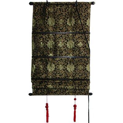 Intricate Shang Hai Tan Roman Shade Product Photo
