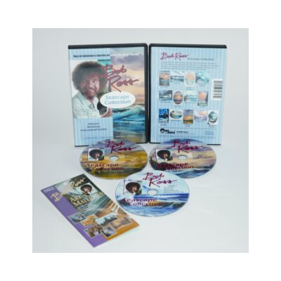 Weber Art ROSS DVD SEASCAPE COLLECTION 6.5 HOUR (3 DISCS)