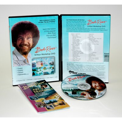 Weber Art ROSS DVD WORKSHOP LANDSCAPE 3 HOUR