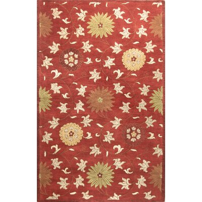 Essex Red Area Rug by Bashian Rugs