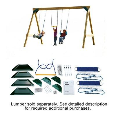 Swing-n-Slide Ready to Build Custom Scout Swing Set Hardware Kit