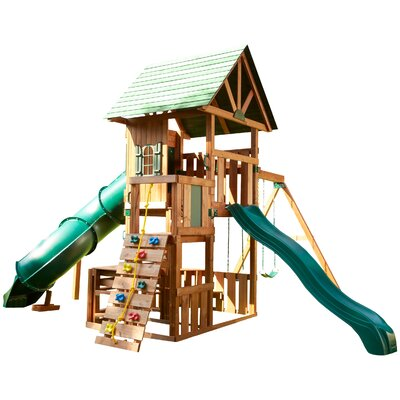 Southampton Wood Complete Swing set Product Photo