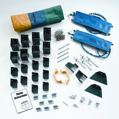 Swing-n-Slide Ready to Build Custom Alpine DIY Swing Set Hardware Kit - Project 613