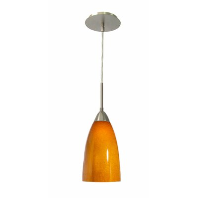 Woodbridge Lighting Art Glass 1 Light Mini Pendant