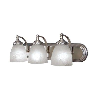 Woodbridge Lighting Kenshaw 3 Light Bath Vanity Light